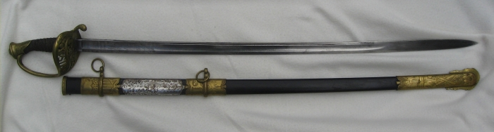 Sword of Lt. Colonel Albert H. Wilcoxson