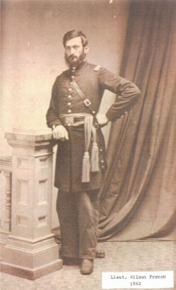 Lieutenant Wilson French - Co. G