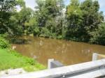 Marsh Creek looking NW