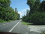 Emmitsburg Road approaching Gettsyburg