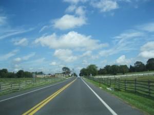 Emmitsburg Road near Bryan Farm