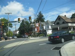Emmitsburg Road to Baltimore St