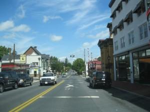 Carlisle Street crossing tracks