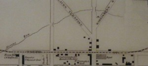 1850s map of area