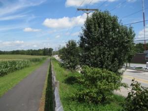 Route of 4 companies towards Rock Creek