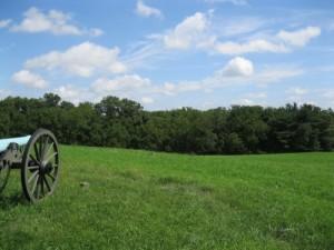 Knoll looking towards Rock Creek and Benner Farm