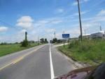 N on Old Gettysburg Road at PA border