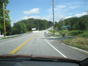 Approaching Marsh Creek