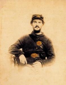 Private Charles E. Morrell - Company B