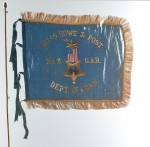 Souvenir flag of the Elias Howe, Jr. Post #3, G.A.R.